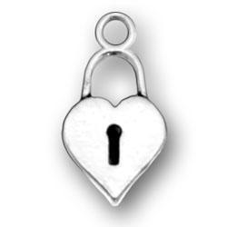 Lock Heart Charm Image