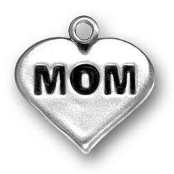 Mom Heart Charm Image