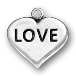 Love Heart Charm Image