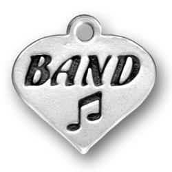 Band Heart Charm Image