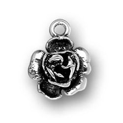 Large Rose Charm Image