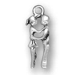 Boy And Girl Kissing Charm Image
