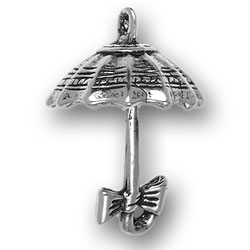 Umbrella With Bow Charm Image