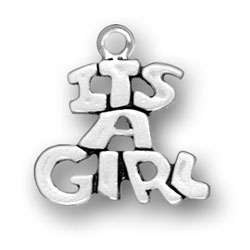 Its A Girl Charm Image