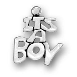 Its A Boy Charm Image