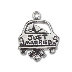 Just Married Charm Image