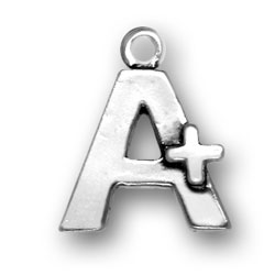 A Plus Sign Charm Image