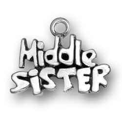 Middle Sister Charm Image