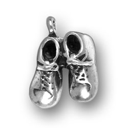 Pair Of Baby Shoes Charm Image