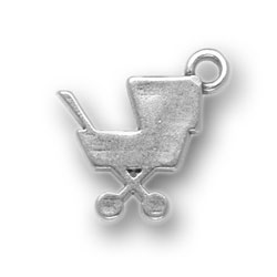 Baby Carriage Charm Image