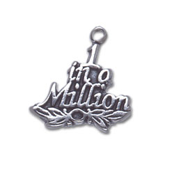 One In A Million Charm Image