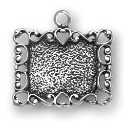 Picture Frame Charm Image