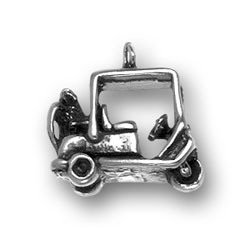 Golf Cart Charm Image