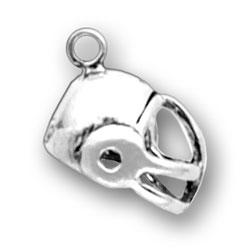 Small Football Helmet Charm Image