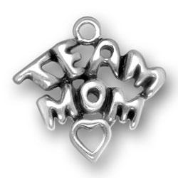 Team Mom Charm Image