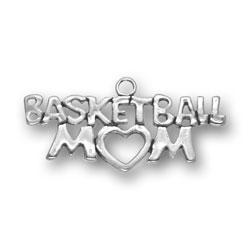 Basketball Mom Charm Image