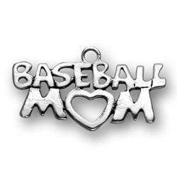 Baseball Mom Charm Image