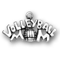Volleyball Mom Charm Image