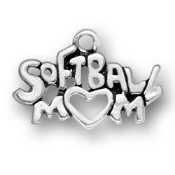 Softball Mom Charm Image