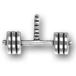 Barbells Charm Image
