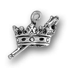 Crown And Scepter Charm Image
