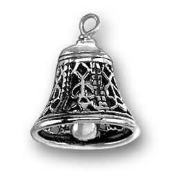 Moveable Filigree Bell Charm Image