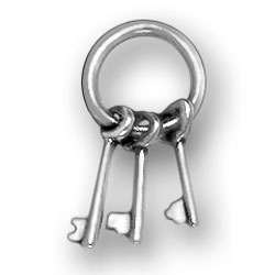 Keys On Ring Charm Image