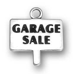 Garage Sale Sign Charm Image