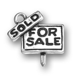 House For Sale Sign Charm Image