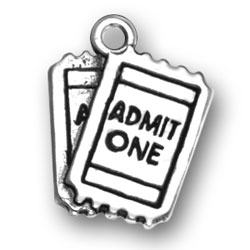Admit One Charm Image