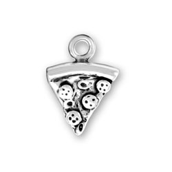 Small Slice Of Pizza Charm Image