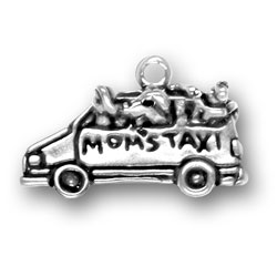 Moms Taxi Charm Image