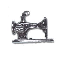 Large Sewing Machine Charm Image