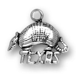 Texas Armadillo Charm Image