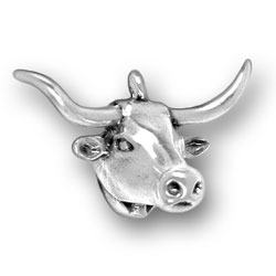 Longhorn Head Charm Image