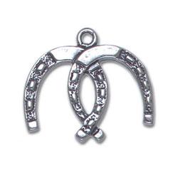 Double Horseshoe Charm Image