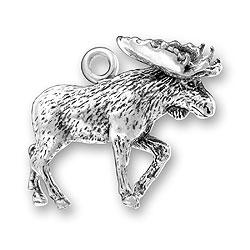 Moose Charm Image