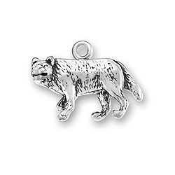 Gray Wolf Charm Image