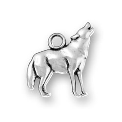 Howling Wolf Charm Image