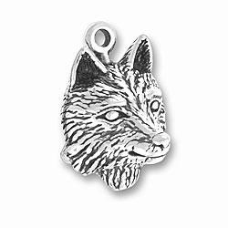 Wolf Head Charm Image