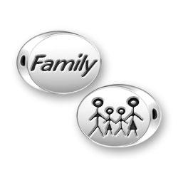 Family Symbol Message Bead Image