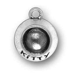 Kitty Dish Charm Image