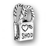 Heart To Shop Shopping Bag Charm Image