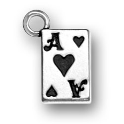Ace Of Hearts Charm Image