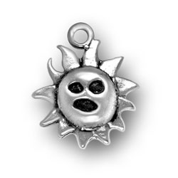 Small Sun With Face Charm Image