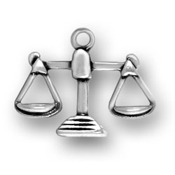 Libra Scales Charm Image