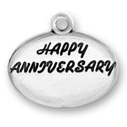 Happy Anniversary Charm Image