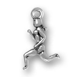 Female Runner Charm Image