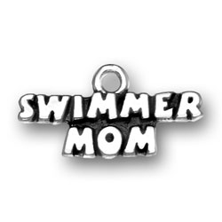 Swimmer Mom Charm Image