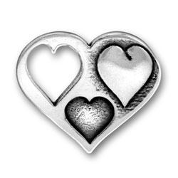Multi Heart Charm Image